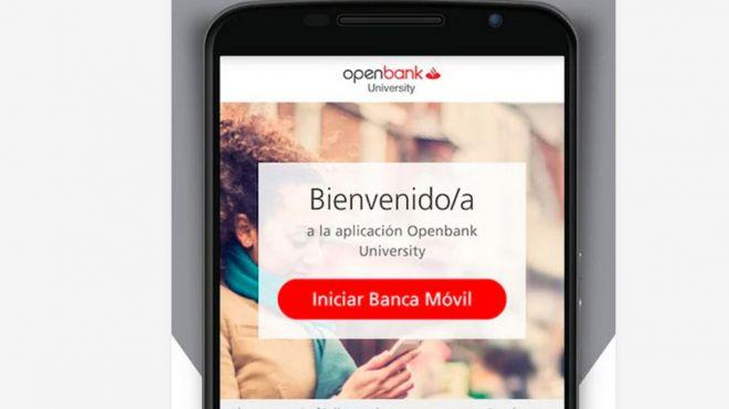 Openbank University, la nueva aplicación de Open Bank y Santander Universidades