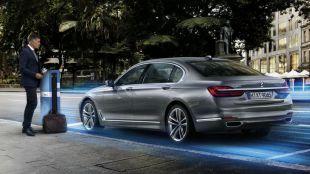 BMW Serie 7 PHEV con tecnología BMW eDrive