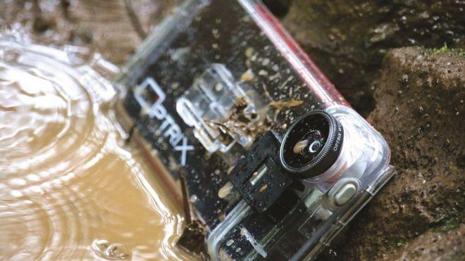 Optrix convierte tu iPhone en una cámara de acción