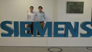 Los ganadores de la competición Power Matrix Challenge comienzan su formación en Siemens
