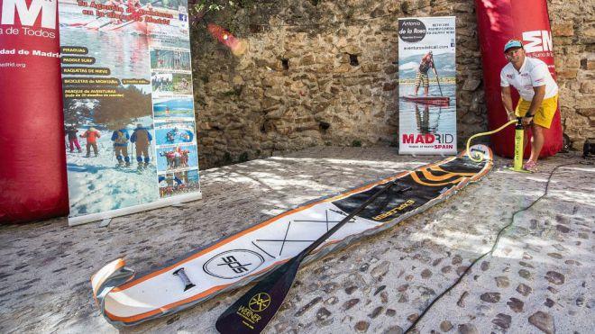 Madrid-Lisboa 19 días en paddle surf