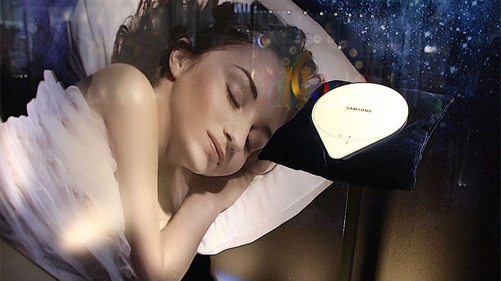 Con Samsung SleepSense podrás monitorizar tu sueño