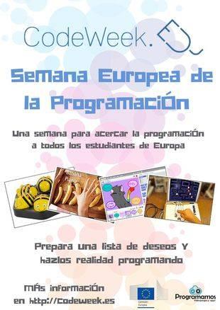 Arranca la Semana Europea de la Programación (Codeweek)