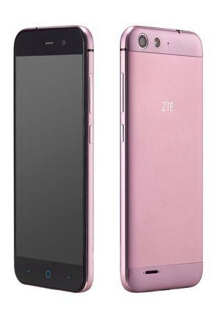 Ya está disponible el ZTE BLADE en rosa y dorado