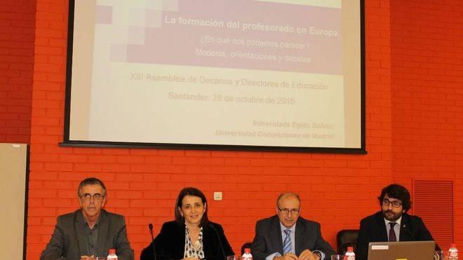 Se celebra la XIII Asamblea de Decanos de Educación