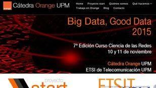 Jornadas 'Big Data, Good Data' 2015 de la Cátedra Orange UPM