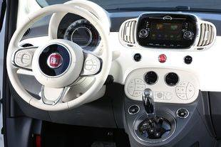 Nuevo Fiat 500 con servicios TomTom Live y navegación conectada
