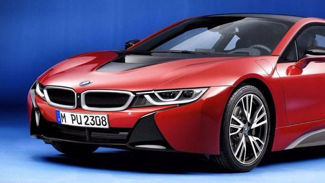 BMW i8 Protonic Red Edition, el deportivo híbrido