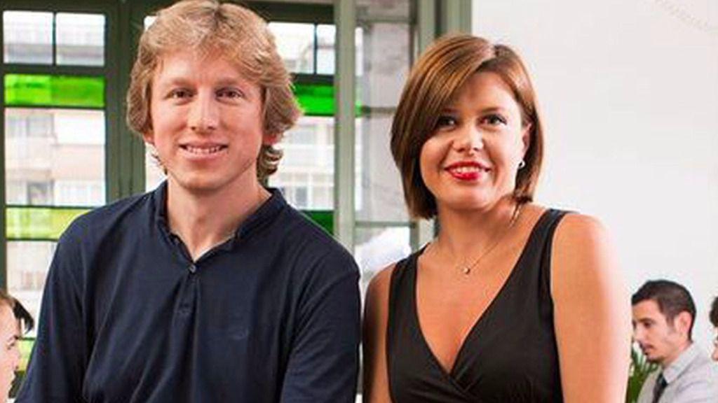 Polina Montano y Eugene Mizin,  fundadores de Job Today