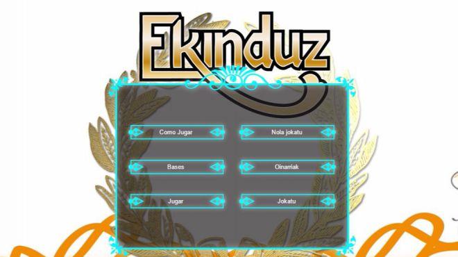 EKINDUZ, un programa que busca al alumnado emprendedor