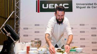 Masterclass del chef Peña sobre Tecnología e Innovación Alimentaria en la UEMC