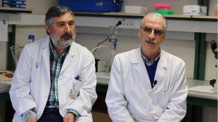 Fidel Fernández y Juan Carlos Villegas.