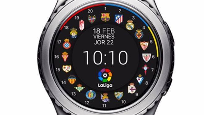 ¿Eres futbolero?, Samsung incorpora esferas de la Liga española en sus smartwatches