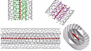 Sintetizadas, por primera vez, cadenas de carbono unidimensionales ultralargas