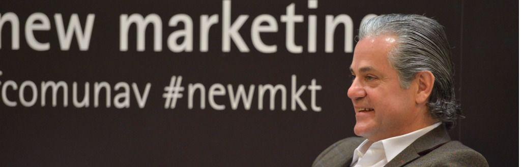 Marcos de Quinto en la presentación de nuevo Grado en Marketing de la Universidad de Navarra