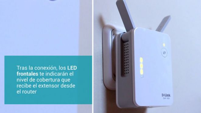 Nuevo amplificador WiFi con indicador de cobertura D-Link