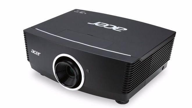 Nueva serie de proyectores F7 con lentes intercambiables de Acer