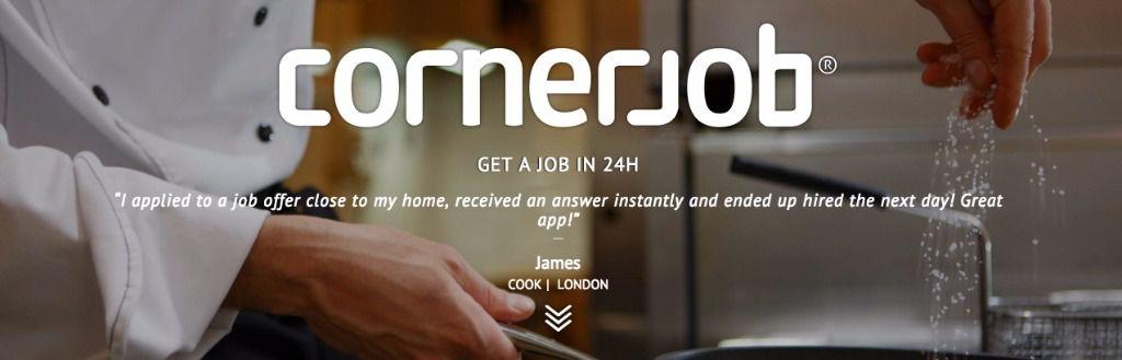 CornerJob, más de 100.000 contratos de trabajo desde su lanzamiento