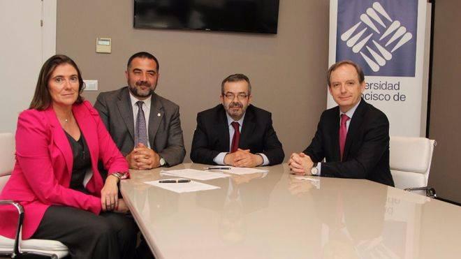 La UFV, Le Cordon Bleu Madrid y el Club Greco, unidos por la formación e investigación en el sector Food Service