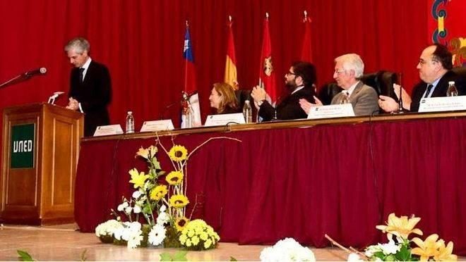 Adolfo Suárez Illana pronuncia la lección inaugural de la XXVII Edición de los Cursos de Verano de la UNED