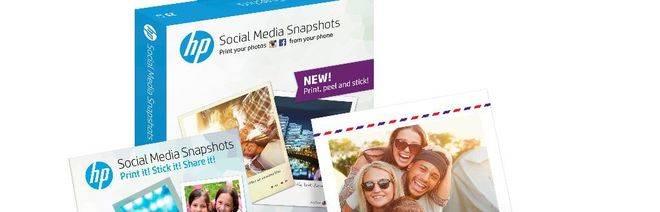 Imprime fotos directamente desde el móvil y desde tus redes sociales este verano con Hp