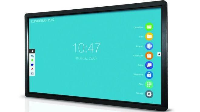 Nueva gama de monitores interactivos Clevertouch Plus LUX de Charmex