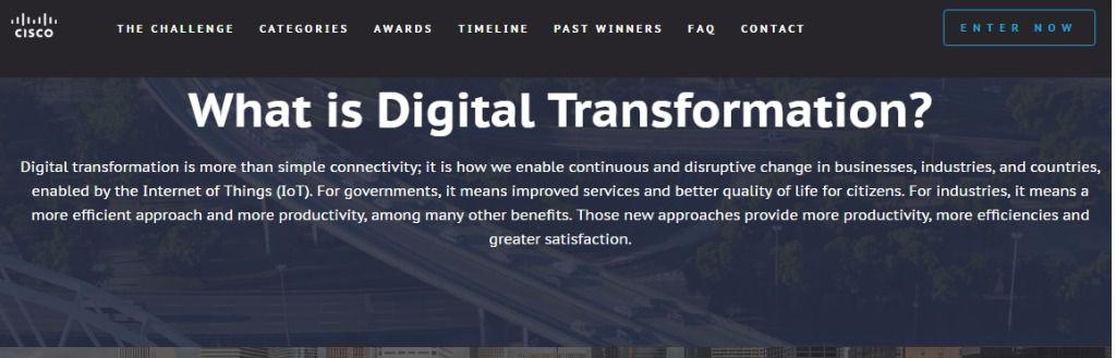 Cisco reta a los emprendedores en la era digital
