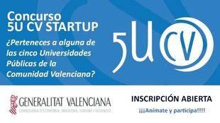 Concurso '5U CV Startup' de la UJI, 20.000 euros en premios para emprendedores universitarios
