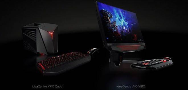 IdeaCentre™ Y710 Cube e IdeaCentre AIO Y910 la nueva 'sobremesa' de Lenovo para los Gamers
