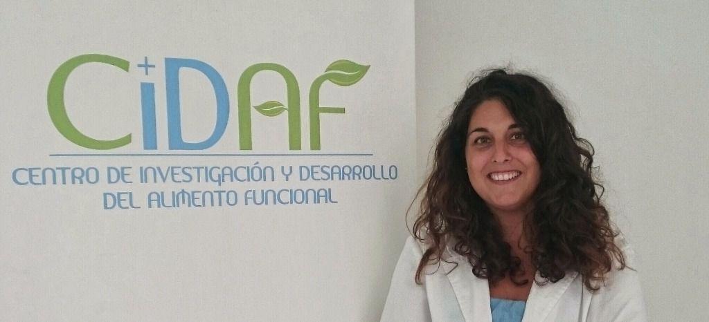 La investigadora del CIDAF Celia Rodríguez Pérez, autora principal de este trabajo