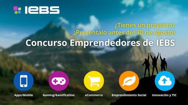 Ampliado plazo de inscripción para el Concurso de Emprendedores de IEBS