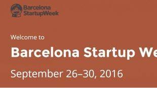 Barcelona StartupWeek 2016 ya calienta motores