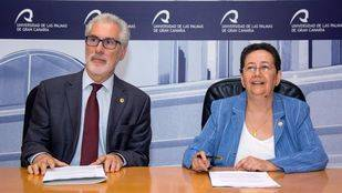 Relevo en el Rectorado de la Universidad de Las Palmas de Gran Canaria
