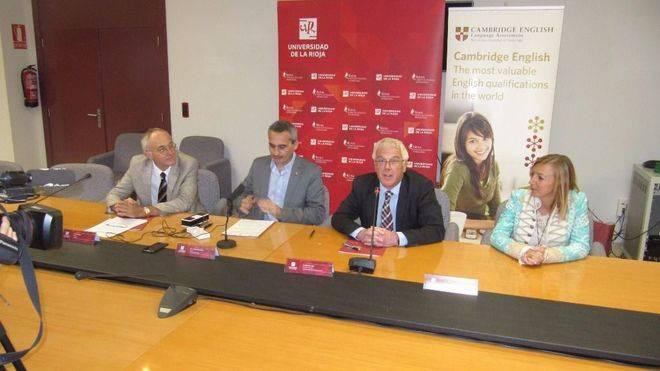 Convenio entre la Universidad de la Rioja y Cambridge English