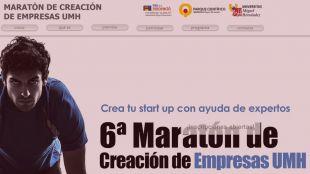 Abierto el plazo de inscripción para la 6ª edición de la Maratón de Creación de Empresas de la UMH