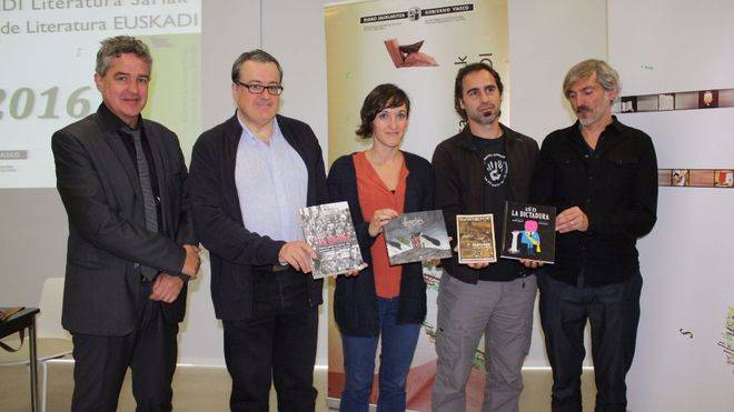 El profesor del Campus de Huesca Fernando Mikelarena, premio Euskadi de Literatura 2016