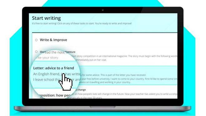 Mejora la expresión escrita en inglés con Write & Improve de Cambridge English