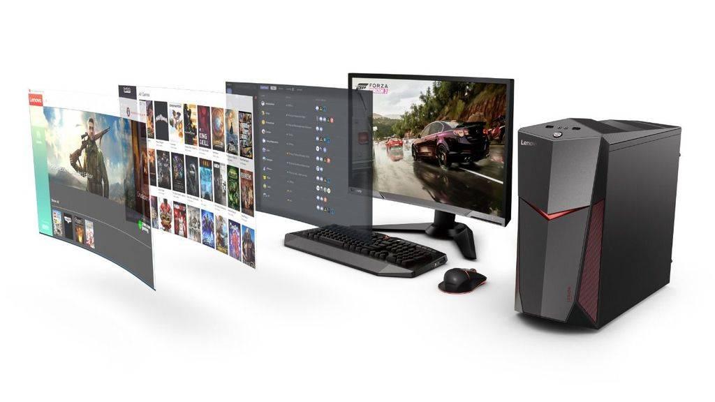 Nuevas torres y monitores Lenovo Legion