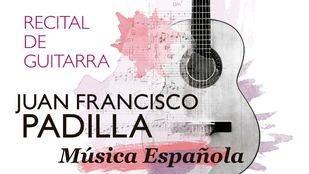 """Juan Francisco Padilla, en los """"Viernes musicales de la UJA"""""""