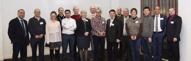 Miembros europeos de NanoMed reunidos en Londres