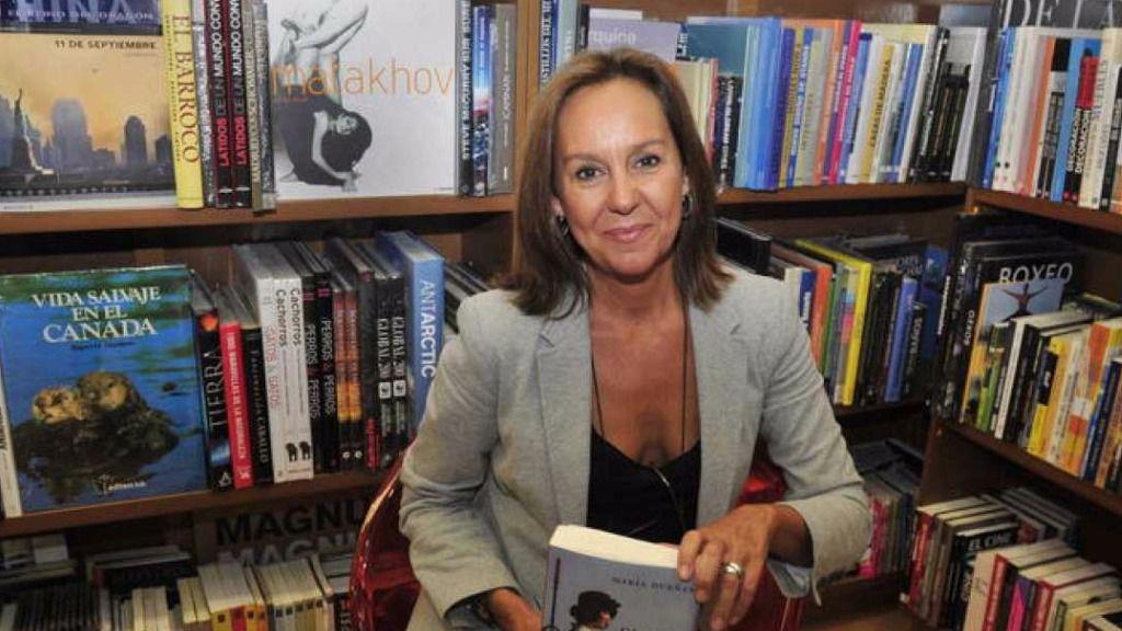 La escritora María Dueñas impartirá dos conferencias en Pamplona