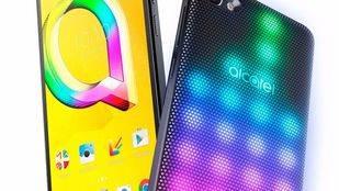 Alcatel A5 LED, primer smartphone con carcasa LED interactiva