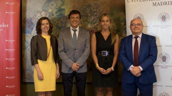 La Complutense y Santander Universidades apuestas por los emprendedores
