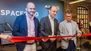 Spaces inaugura su primer centro en España con el apoyo del Ayuntamiento de Madrid y de CEAJE