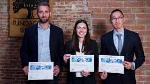 Entrega de los IV Premios al Talento Joven para la Gestión Sostenible del Agua