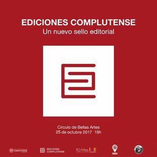 Ediciones Complutense, nuevo sello editorial de la UCM