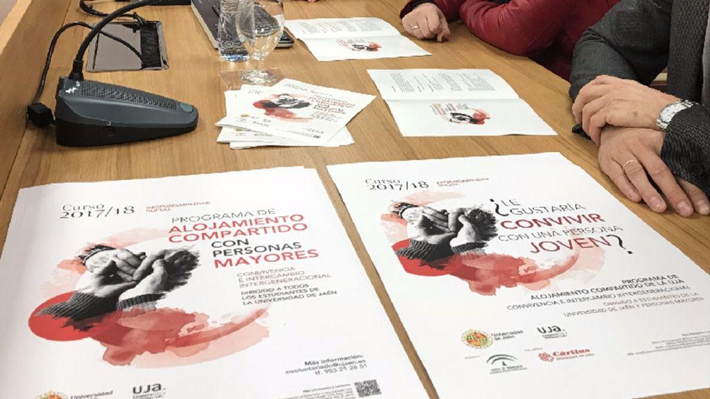 Programa de Alojamiento compartido con Mayores del curso 2017-2018 de la UJA
