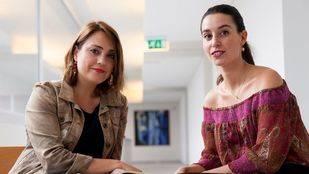 Zaira Vicente, coach, especializada en el desarrollo de talento, y  Janire Malda, periodista han participado en la experiencia piloto de Mentoring. (Tere Ormazabal. UPV/EHU)