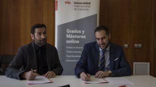 La VIU e ICOEFCV se unen para ofrecer formación de calidad en Salud
