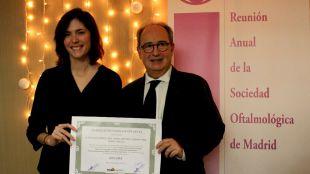 Isabel Ortuño y Nicolás Cuenca de la UA